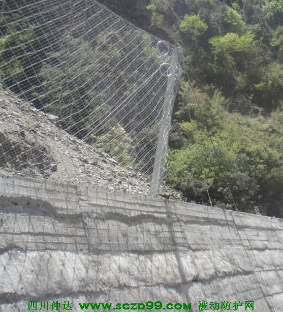 四川被动xx色综合--S215线边坡防护工程